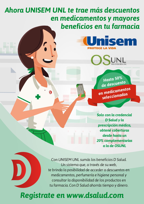 UNISEM: Servicios adicionales y descuentos en medicamentos